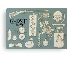 Ghost Hunt Canvas Print