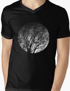 Nature into me! - Black Mens V-Neck T-Shirt
