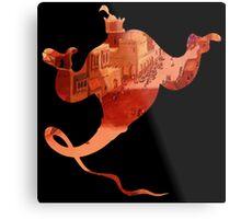 Aladdin Genie Metal Print