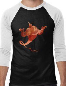 Aladdin Genie Men's Baseball ¾ T-Shirt