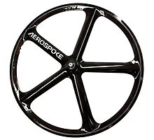 Aerospoke Wheel Photographic Print