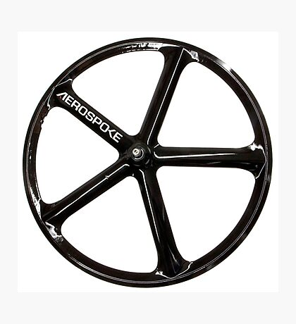 Aerospoke Wheel Photographic Print