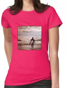Heading Out Womens Fitted T-Shirt