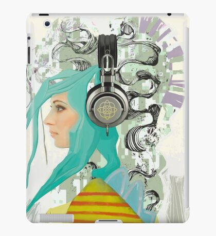 Headphones iPad Case/Skin