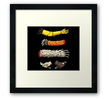 Casualties of Wars Framed Print