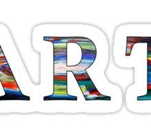 art in earth Sticker