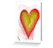 Aceo Heart # 1 Greeting Card