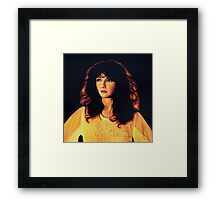 Kate Bush Painting Framed Print
