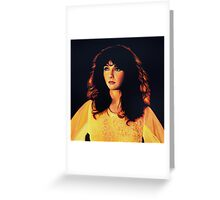 Kate Bush Painting Greeting Card