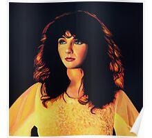 Kate Bush Painting Poster