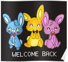 Five Nights At Freddy's 3 Welcome Back Poster
