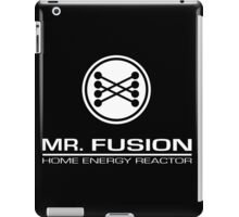 Back To The Future II Mr Fusion Logo & Text iPad Case/Skin