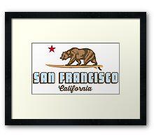 San Francisco. Framed Print