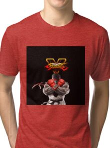 SFV Ryu Street Fighter V Tri-blend T-Shirt