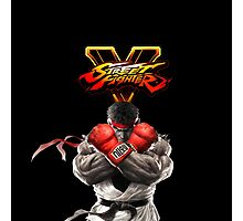 SFV Ryu Street Fighter V Photographic Print
