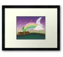 Keep Believing, Keep Pretending Framed Print