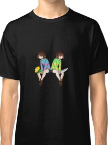 Undertale - Frisk and Chara Classic T-Shirt