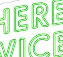 Inherent vice Sticker