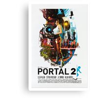 Portal 2 Movie? Canvas Print
