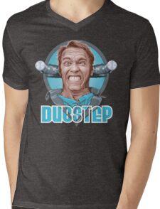 Dubstep Arnie Mens V-Neck T-Shirt