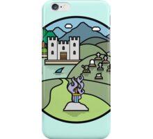 Fantasy landscape iPhone Case/Skin