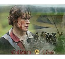 Outlander/Jamie Fraser/Culloden Photographic Print