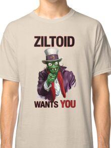 Uncle Ziltoid Wants You! Classic T-Shirt