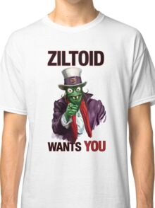 Uncle Ziltoid Wants You! Classic T-Shirt