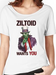 Uncle Ziltoid Wants You! Women's Relaxed Fit T-Shirt