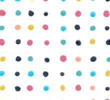 Multi color Dots Sticker