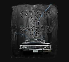 Carry On My Wayward Son ~ Supernatural Unisex T-Shirt