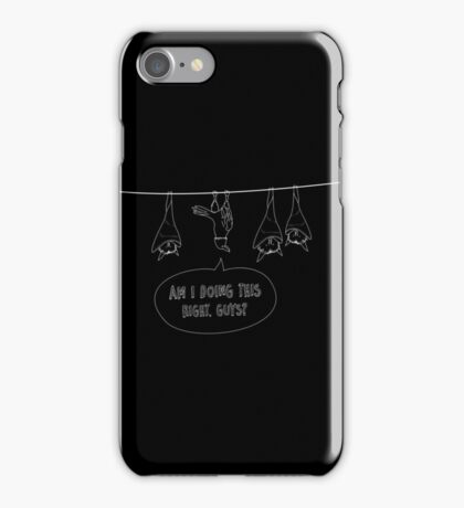 Am I Doing It Right? iPhone Case/Skin