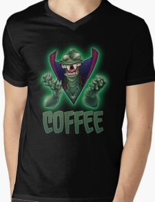 Ziltoid Needs COFFEE Mens V-Neck T-Shirt