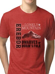 Erebor: The Lonely Mountain Tri-blend T-Shirt