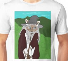a wise old cat errrm wizard. i meant wizard! Unisex T-Shirt