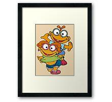 Muppet Babies - Skooter & Skeeter Framed Print