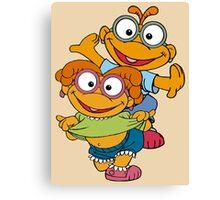 Muppet Babies - Skooter & Skeeter Canvas Print