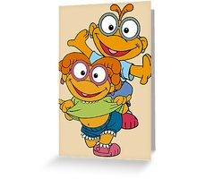 Muppet Babies - Skooter & Skeeter Greeting Card