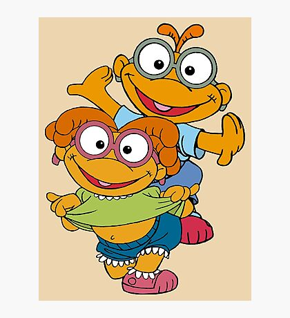 Muppet Babies - Skooter & Skeeter Photographic Print