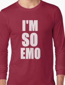 I'M SO EMO Design  Long Sleeve T-Shirt