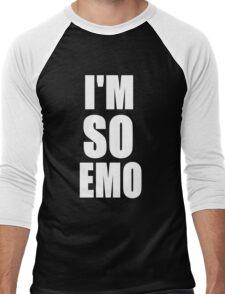 I'M SO EMO Design  Men's Baseball ¾ T-Shirt