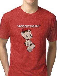 Geronimeow Tri-blend T-Shirt