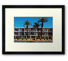 The Pool, The Saguaro Hotel (Palm Springs) Framed Print