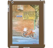 Foot traffic only iPad Case/Skin