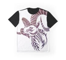 Tribal Goat Graphic T-Shirt