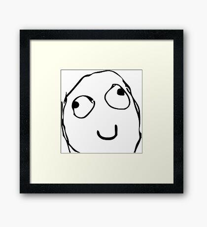 Meme Framed Print