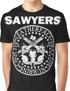 The Sawyers Hey Ho! Let's Go...Cut them up! Graphic T-Shirt