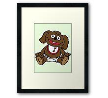 Muppet Babies - Rowlf Framed Print