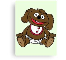 Muppet Babies - Rowlf Canvas Print