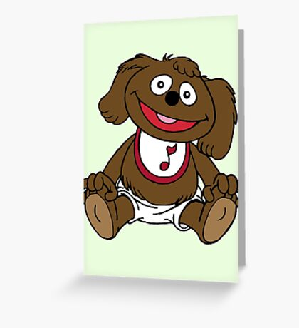 Muppet Babies - Rowlf Greeting Card